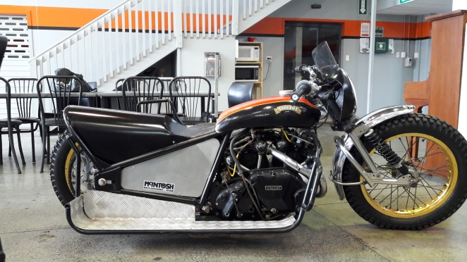 Vincent Speedway Sidecar